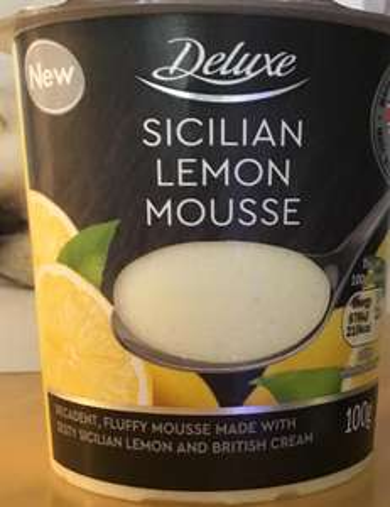 Lidl Deluxe Mousse inc. Butterscotch, Sicilian Lemon 25p each @ Lidl