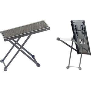 Stagg FOS-B1 BK Metal Guitar Foot Stool - Black now £4.14 add-on item at Amazon