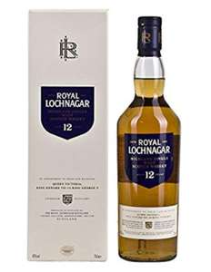Royal Lochnagar 12 Years Old Single Malt Scotch Whisky, 70cl £30.99 at Amazon