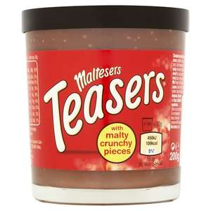 Maltesers Teasers Chocolate Spread 200G 59p @ Home Bargains