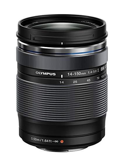 Olympus Zuiko - Lens for SLR camera (focal length 14-150mm, aperture f / 4, op zoom 10.7x, filter dia: 58mm) II - £371.59 @ Amazon Spain