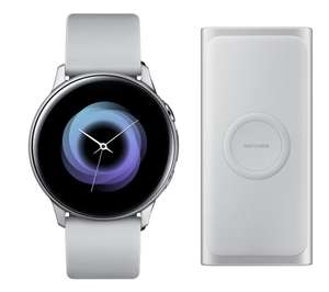 SAMSUNG Galaxy Watch Active & Wireless Power Bank Bundle £199 or £149 with trade in of ANY old smart watch
