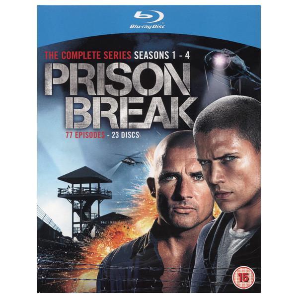 Prison Break Season 1-4 Blu-ray Preowned £13.50 delivered @ Cex