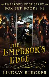The Emperor's Edge Collection (Books 1, 2, and 3) - Free Kindle Edition @ Amazon