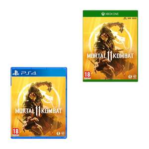 Mortal Kombat 11 PS4/Xbox One/Switch - £24.99 Delivered @ Amazon
