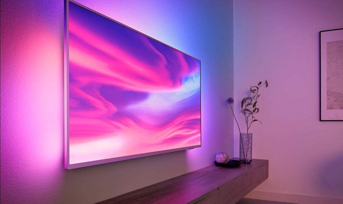 2019 newest model Philips 65PUS7304 Ambilight 4k TV. 29% off - £919.99 @ Amazon