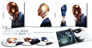 HOLLOW MAN 1 & 2: COLLECTORS LIMITED BLU-RAY EDITION In Specially Designed Fold-Out Digipack + Booklet. Limited to 3000 Copies @ Amazon UK