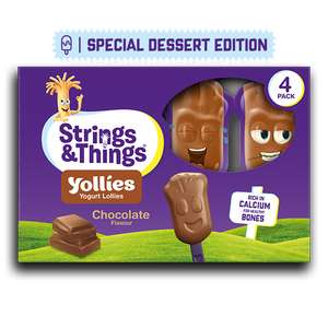 Strings & Things Chocolate Yollies, £1 / Free Via CheckoutSmart