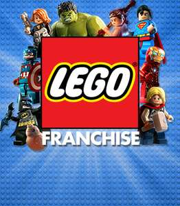 Lego Franchise upto 75% off on steam starting from £2.49