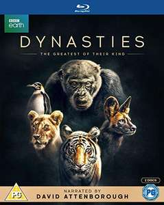 BBC Earth: DYNASTIES By David Attenborough Blu-Ray Boxset £10.19 @ Amazon UK