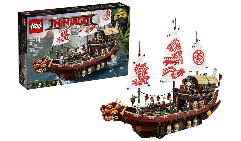 LEGO Ninjago Movie Destiny's Bounty £49.99 @ Argos