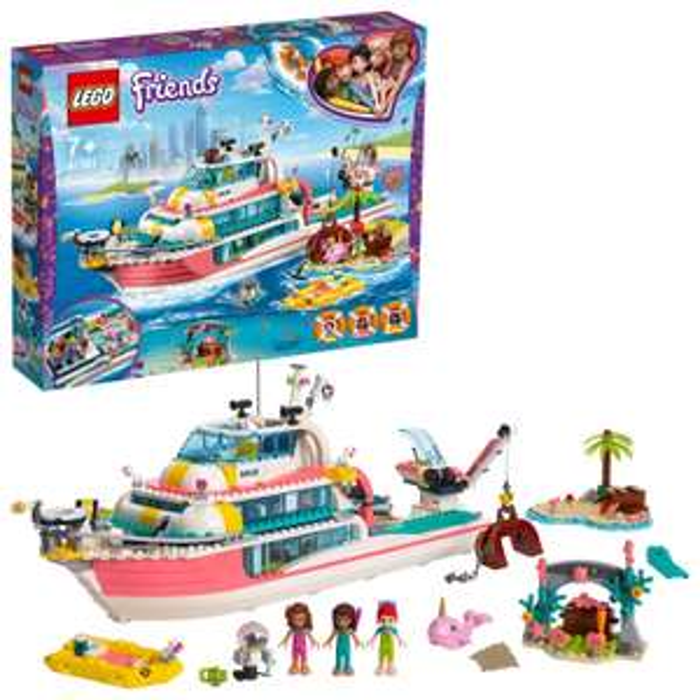 Half Price LEGO Friends Rescue Mission Boat - 41381 - £40 @ Argos