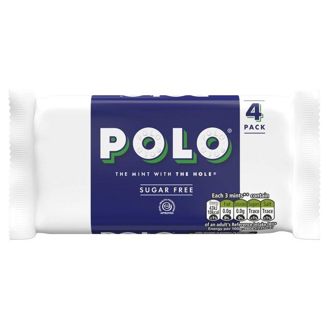 Polo Sugar Free 4 Pack 84p instore @ Tesco Express