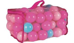 Chad Valley Bag of 100 Pink £3. 96 and Blue Play balls £4.50 @ Argos
