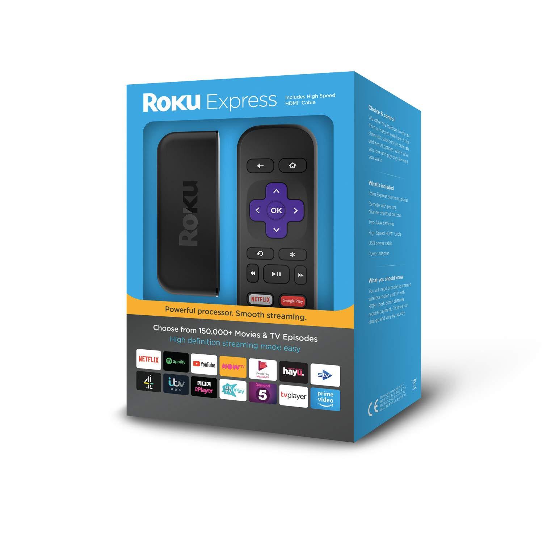 Roku Express | HD Streaming Media Player - £24 @ Amazon