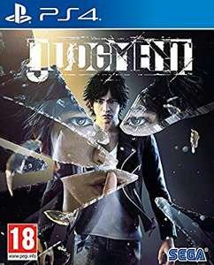 Judgment for PS4 at Amazon for £28.99