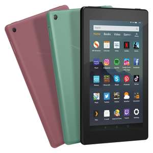 """Amazon Fire 7"""" 16GB Wifi Tablet £34 Delivered @ AO - Black / Plum / Sage Colours"""