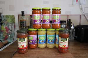 seeds of change organic, soil association approved sauces, various flavours - 60p instore @ Heron Foods