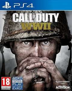 Call of Duty: WWII PS4 - Used - £4.76 with code @ Music Magpie