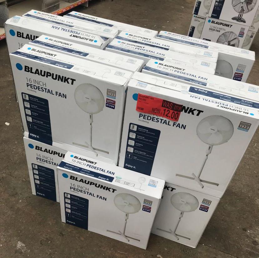 Blaupaunkt 16 inch Pedestal Fan £12.00 @ B&M instore
