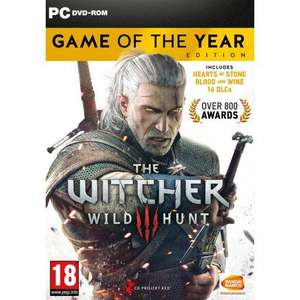 The Witcher 3: Wild Hunt - Game Of The Year PC DVD - £10.95 delivered @ The Game Collection