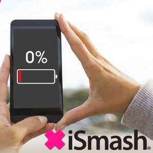 iPhone Battery Replacements For Out Of Warranty / Applecare Phones £15-£30 via Groupon / iSmash - Instore Redemption - 26 Locations