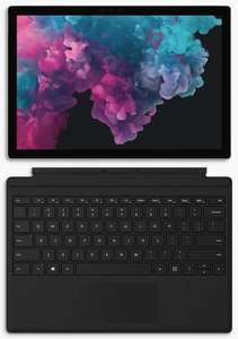 "Microsoft Surface Pro 6 Tablet, Intel i5, 8GB RAM, 128GB SSD, 12.3"" Touchscreen, Platinum - £779 @ John Lewis & Partners (+2 yrs guarantee)"