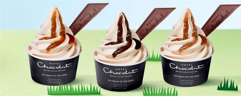Hotel chocolat standard ice cream tub for £1 - Wuntu @ Three