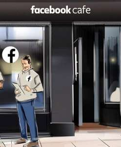 Free cappuccino, americano or mint tea & Facebook Privacy Checkup at pop-up cafes