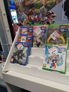 Lots Of Reduced Games At B&M - Includes Nintendo Switch, Xbox One & PlayStation 4 Instore (Just Dance £10) Slatyford Newcastle
