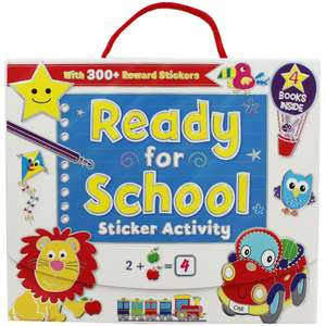 Ready for School Sticker Activity Pack @ The Works Free C&C £2.50