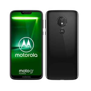 Sim Free Motorola G7 Power 6.24 Inch 64GB 12MP 4G Mobile Phone - Black £111.99 at Argos eBay
