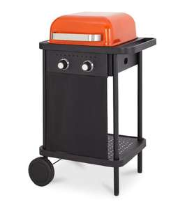 Rockwell 200 Orange Gas Barbecue £47 delivered @ B&Q
