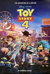 Toy Story 4 (HD Preorder) - £6.99 - (SD £4.99 / HD+ £7.49) w/code @ Chili