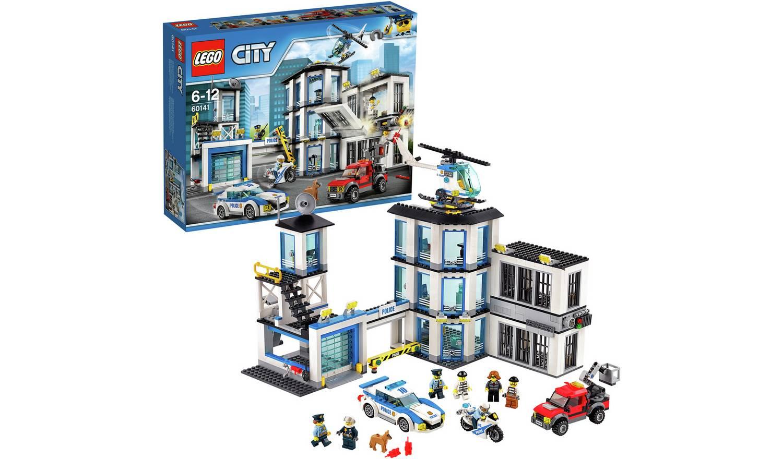 LEGO City Police Station, Helicopter Car & Bike Toys - 60141 £50 @ Argos