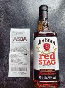 Red Stag from Jim Beam, and more of the rest of their 70cl range now £14 at ASDA