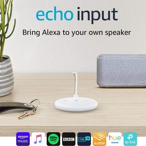Amazon Echo Input White £19.99 (+£4.49 Non Prime) @ Amazon