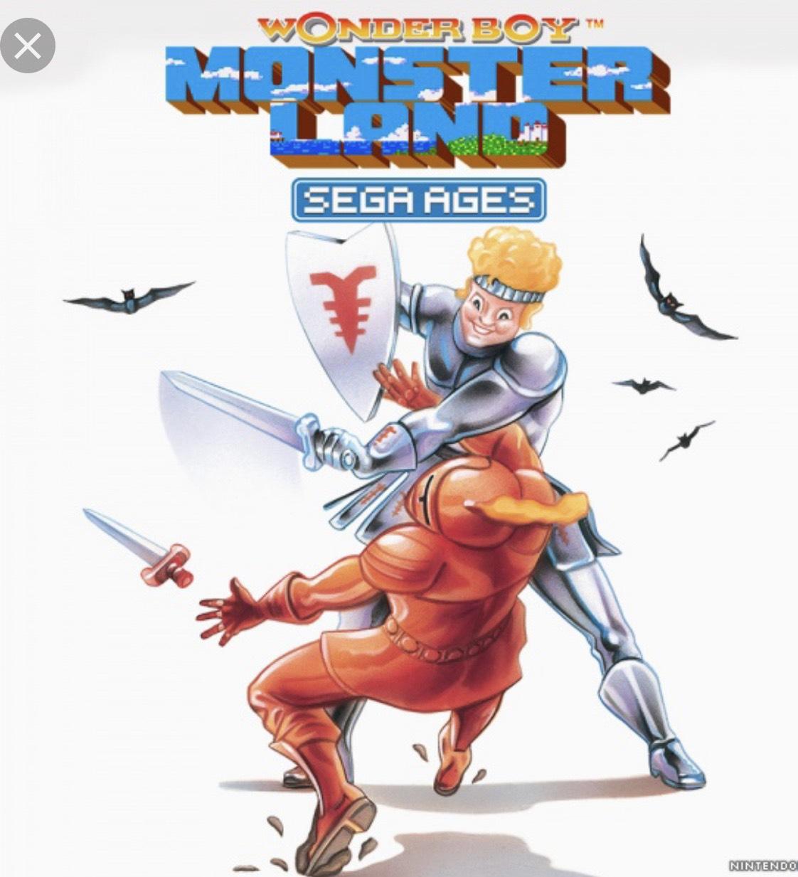 SEGA AGES Wonder Boy: Monster Land and Gain Ground (Nintendo Switch) £4.01 each @ Nintendo eShop