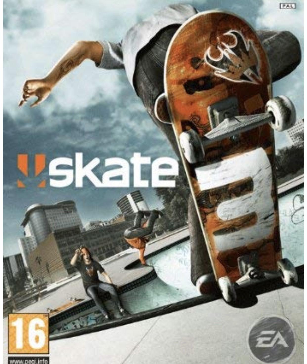 Skate 3 (Xbox 360/Xbox one) @ Microsoft store £3.74
