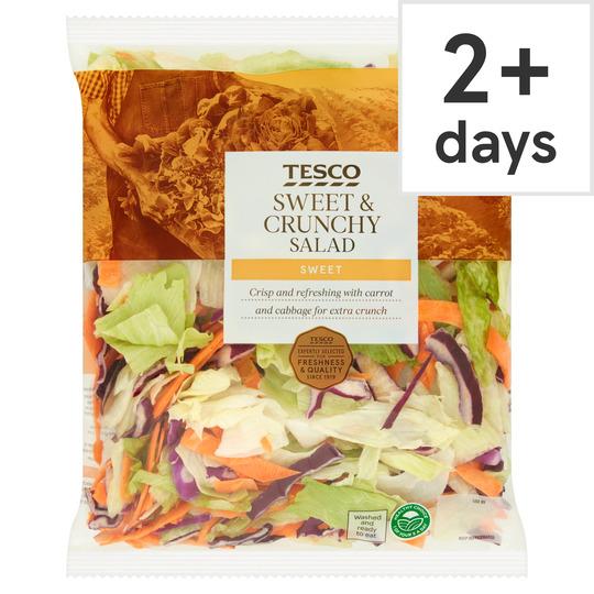 Tesco-Sweet&Crunchy Salad-370g-£0.50 was £1.00