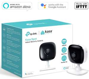 TP-Link Smart Spot Indoor Security Camera, No Hub Required, Works with Alexa, Google Home 1080P - £29.99(Prime) / £34.48(non Prime) @ Amazon