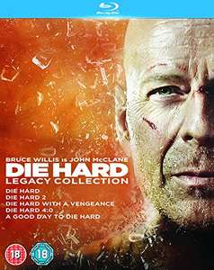 Die Hard Legacy Collection Blu-Ray Boxset. Inc: 5 Die Hard Films £8.88 @ Amazon UK