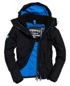 New Mens Superdry Pop Zip Hooded Arctic SD-Windcheater at Superdry Ebay for £34.99