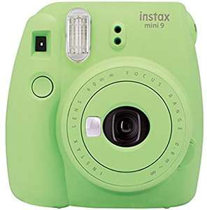 Instax Mini 9 camera in lime green for £42.99 or cobalt blue for £44.99 on Amazon