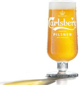 Carlsberg Danish Pilsner : Free Pint at Participating Venues