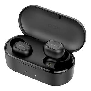 QCY T2S Bluetooth 5.0 TWS Earphones with Wireless Charging - £17.96 delivered using code @ Geekbuying