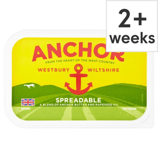 Anchor butter spreadable 500g £2 @ Tesco