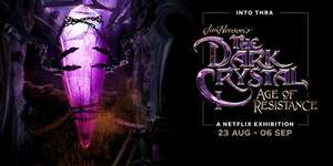 dark crystal exhibition at BFI london - free admittance - booking advised