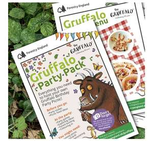 Free Gruffalo Party Pack @ Forestry England
