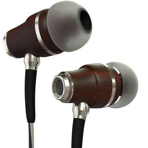 Symphonized NRG 3.0 Wooden Earbuds Noise-isolating Headphones / Mic £11.99 Prime / £16.48 Non Prime w/code Sold by SeventhContinent & FBA